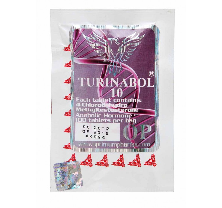 Oral Turinabol 10mg/100 Pills